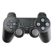 Trådløs Vibration Controller til PS3, PS2 og PC (2.4Ghz, Sort)