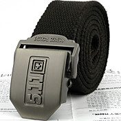 mode metalen gesp canvas riem