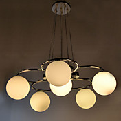 Modern Pendant Light with 5 Lights