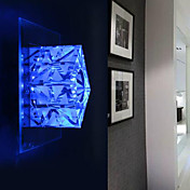 20W Nature Inspired Crystal Wall Light Cubic Shape