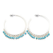 Fashion Natural Stone Alloy Earrings