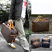 Generic Men's Grid Travel Bag(40cm*17cm*25cm)