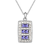 Austrian Crystal With Real Platinum Plated  Anti-Allergy Ladies Necklace Dawn (More Colors)