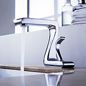 Strö ® från lightinthebox - massiv mässing bathroom sink blandare krom