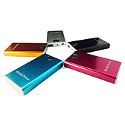 Batera Externa de 3300mAh con Lmpara LED para iPhone, Telfonos Mviles, MP3, etc. (Colores Aleatorios)
