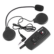 500m Bluetooth Interphone Motorcycle Helmet Intercom,1 Pcs