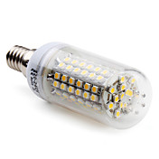 E14 5W 96x3528 SMD 250-300LM 2800-3300K Warm White Light LED Corn Bulb (220-240V)
