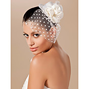 Kate Middleton Style Watch: Flannelette/ Lace/ Satin Wedding Bridal Hat/ Headpiece