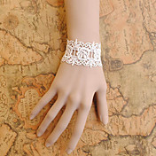 main dentelle blanche simple de style campagnard lolita bracelet