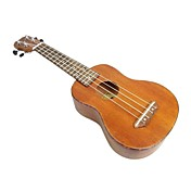 Tom - (TOM213) Mahogany Soprano Ukulele with Gig Bag/Picks