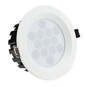 13w 1300-1400lm 3000-3500k chaude plafond blanc lampe led ampoule (85-265v)