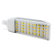 g24 8w 40-5050 SMD 600-700lm 3000-3500K warmes weies Licht gefhrt Mais Glhbirne (220V)
