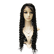 Lace Front 100% Indian Remy Hair Deep Wave Long Wig