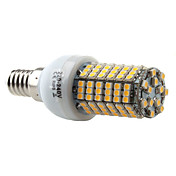 E14 138-SMD 3528 7W 350-450LM 2800-3300K Warm White Light LED Corn Bulb (220-240V)