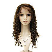 Lace Front 100% Brazil Remy Hair Deep Wave Long Wig