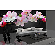 Sakura Blossom Contemporary Graphics Nature Mural