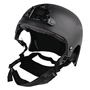 War Game or Motorcycle Helmet with Lighting Mount holder