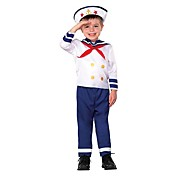 Kids Sailor Blue Halloween Costume (2-4 YRS)