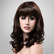 Capless 100% Human Hair Curly Long Wig