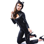 Sexy Queen of Felines Leotard Halloween  Costume(2Pieces)