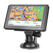 5 polegadas touchscreen carro GPS Navigator TF, USB, MP3, MP4, Ebook