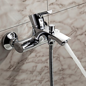 Sprinkle® by Lightinthebox - Contemporary Solid Brass Tub Faucet(Chrome Finish)