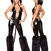 Hot Sexy Nye Kvinder Black Cat Party Halloween kostume (2Pieces)
