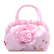 Gorgeous Fabric with Sequins and Flowers Evening Handbag/Clutches(More Colors)
