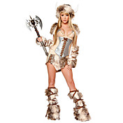 Sexy Soldier Fur Halloween Costume (5 stuks)