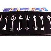 Key Set Inspired by Kingdom Hearts Arsenal (8 pieces)