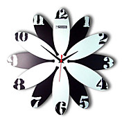 Artistic Number Wall Clock 15""