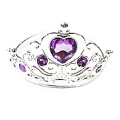 Purple Diamond Princess Crown Halloween Headpiece(1 piece)