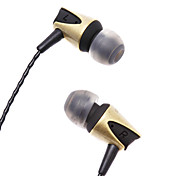 Druckentlastenden Goldenen und Black Headphones