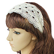 Handmade White Lace Casual Lolita Headdress