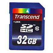 32GB Transcend Class 10 SDHC Flash Memory Card