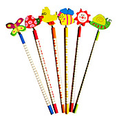 Wooden Animal Children's Pencil(Random Colors)