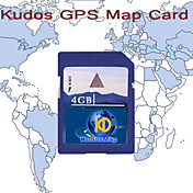 KUDOS Western Europe Map (SD Card-4G)