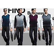 Men's Casual Stripes Wool Vest