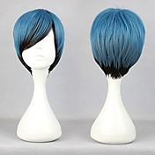 perruque lolita inspir par fermeture clair bleu gal dgrad de couleur 32cm oji