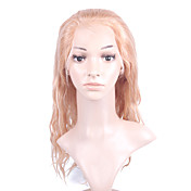 "Nieuwe Lijm-less Cap Met Combs Losse Curly 16 ""Gemengde Blond Kleuren 100% Indian Remy Lace Wig"