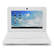 712 10 tums Vit Mini Netbook Laptop (Android 4,0, WiFi, kamera, HDMI)