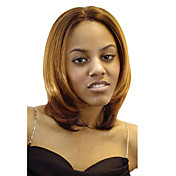 Lace Front Short Brown Wavy High Quality Synthetic Japanese Kanekalon Wigs