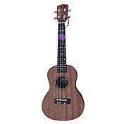 Nuts - (U-100C) Plywood Sapelle Concert Ukulele with Bag