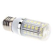 E27 7W 36x5050 SMD 700-750LM 6000-6500K Natural White Light LED Corn Bulb (85-265V)
