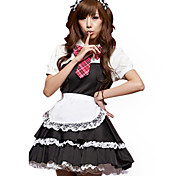 Dejlige sorte blonder Spandex Maid Suits (5 Pieces)