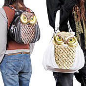 Handmand Cute Owl Face PU Leather Gothic Lolita Mini/Shoulder Bag