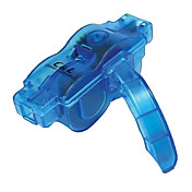 Blue Plastic and Metal Bike Chain Cleaning Tool