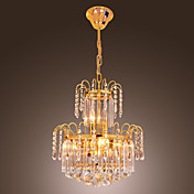 Luxury Crystal Chandelier with 10 Lights