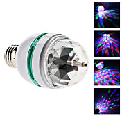 Sound Controlled E27 3W Colorful Light Autorotation Mini LED Bulb for Disco Party Stage (85-265V)