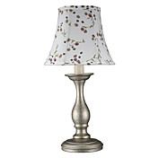 40W Elegant Maleri Færdig Table Light med Fabric Shade